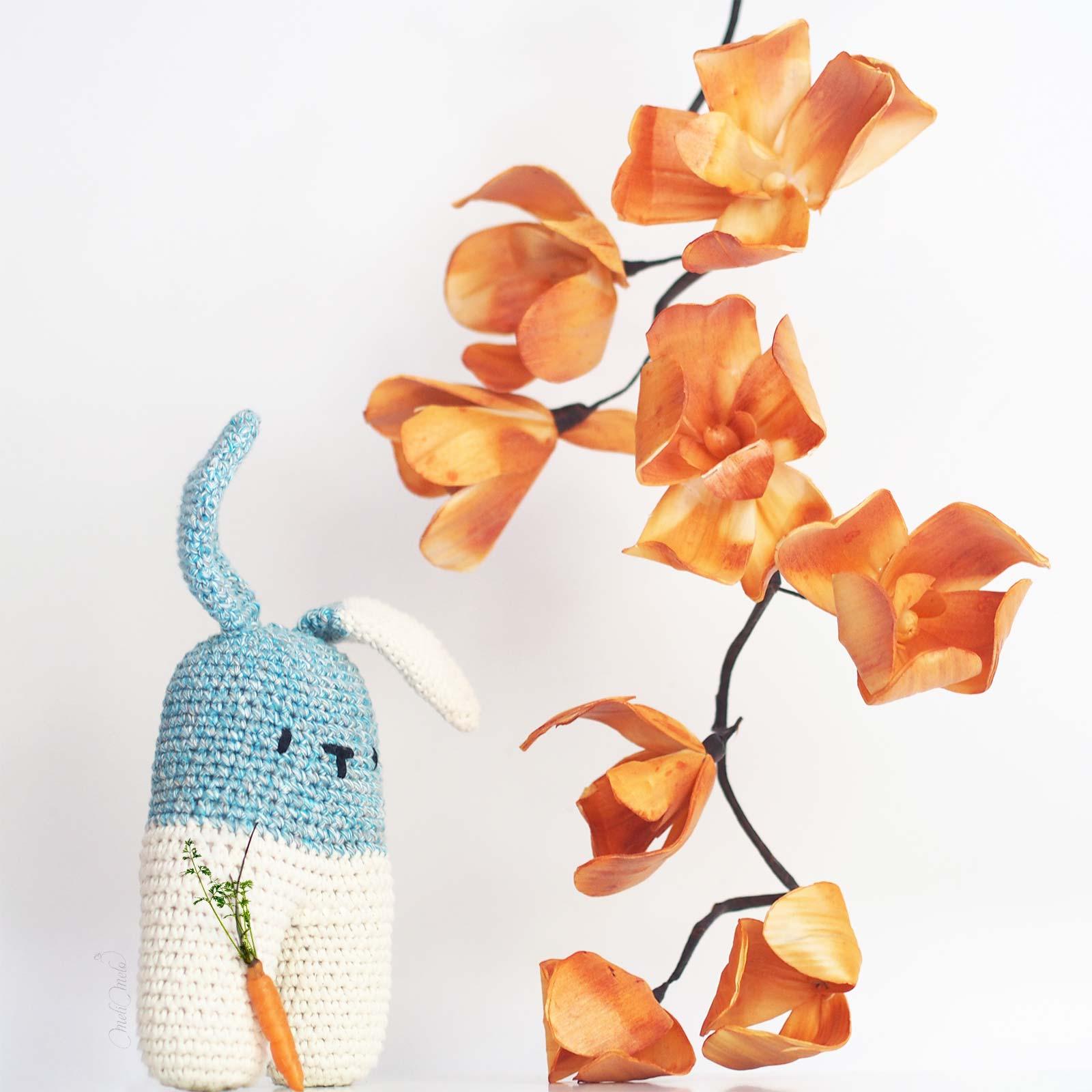 crochet lapin lanukas conejo bipedo happyshinycotton woolandthegang laboutiquedemelimelo