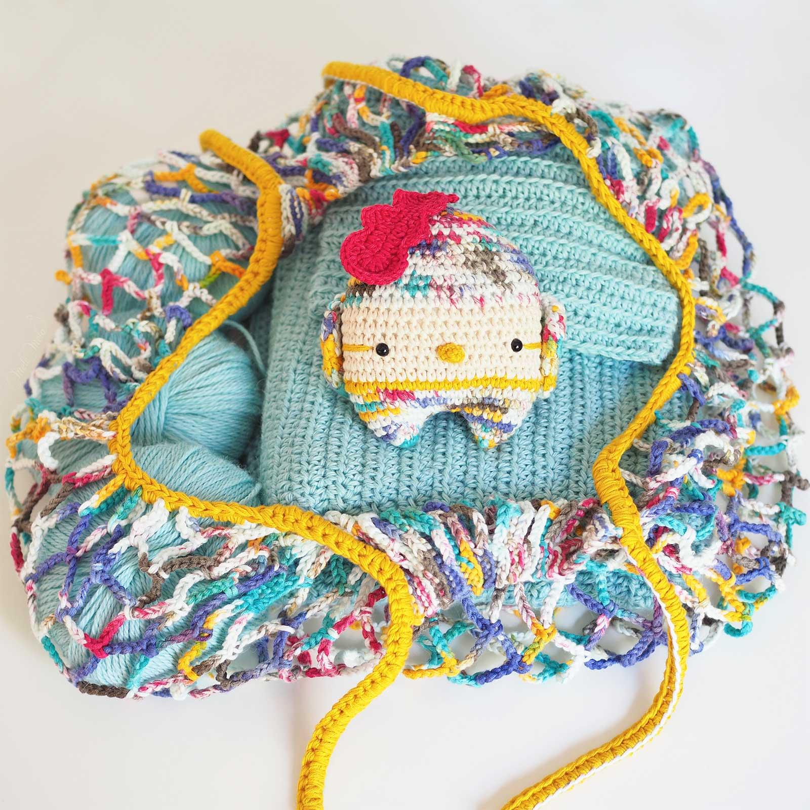 crochet market bag titus bird lalylala outstandingcrochet boutique melimelo