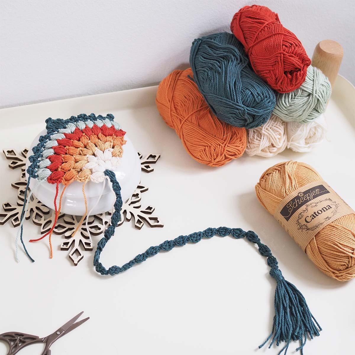 crochet-marque-page-plume-couleur-automne-laboutiquedemelimelo