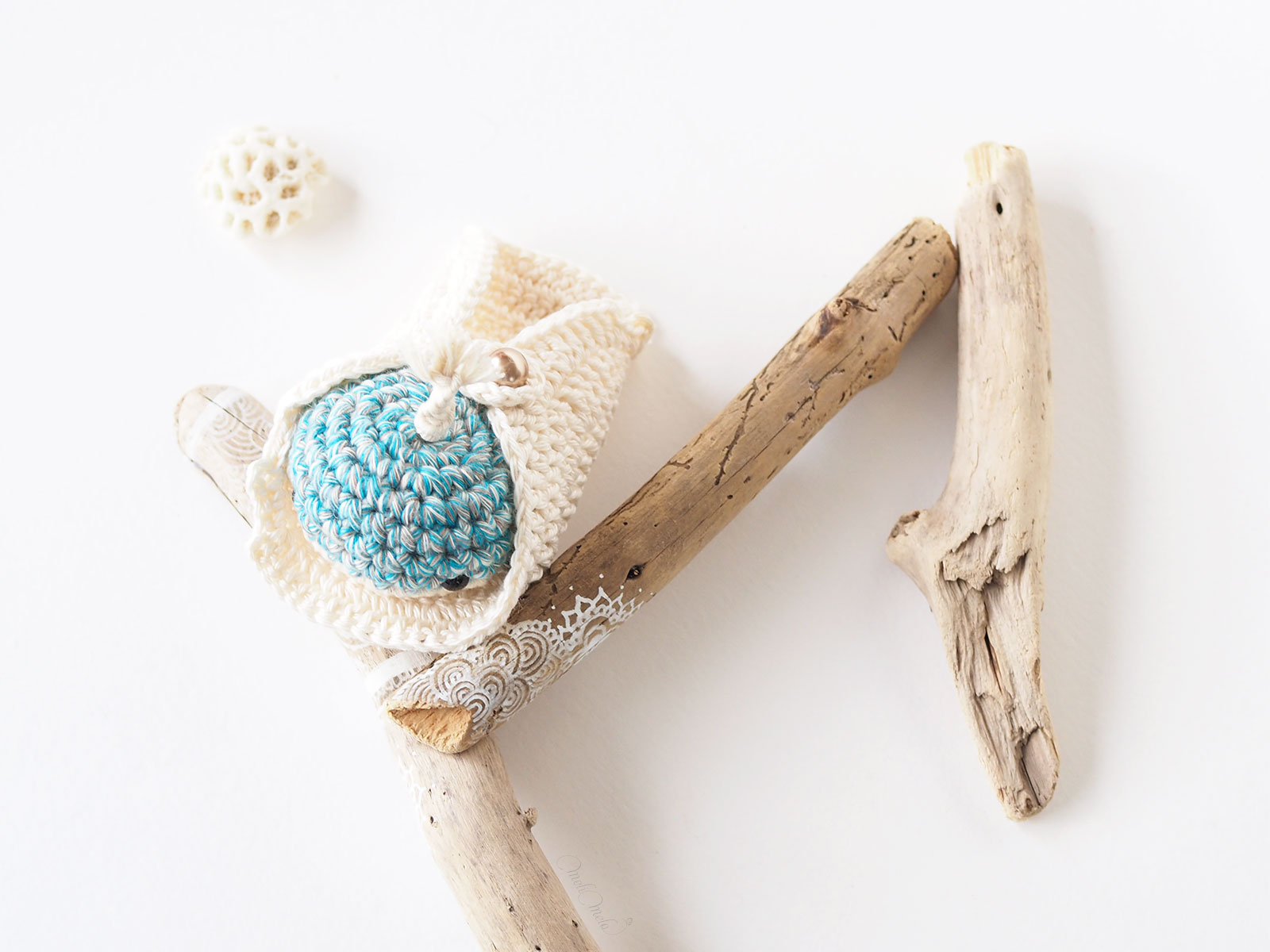 mini-baleine cosy coquillage mignonneries au crochet laboutiquedemelimelo