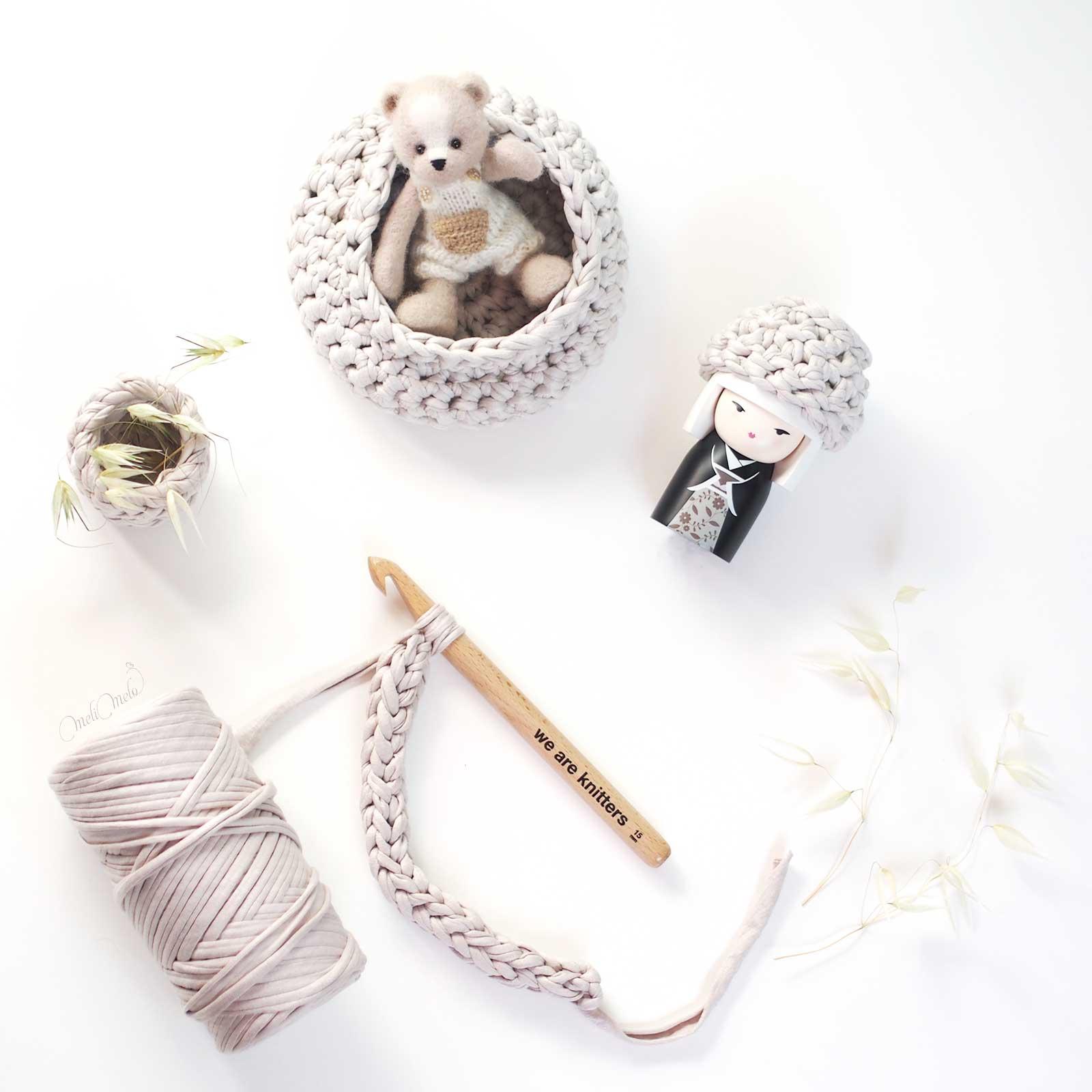 crochet panières trapilho the fabric weareknitters laboutiquedemelimelo