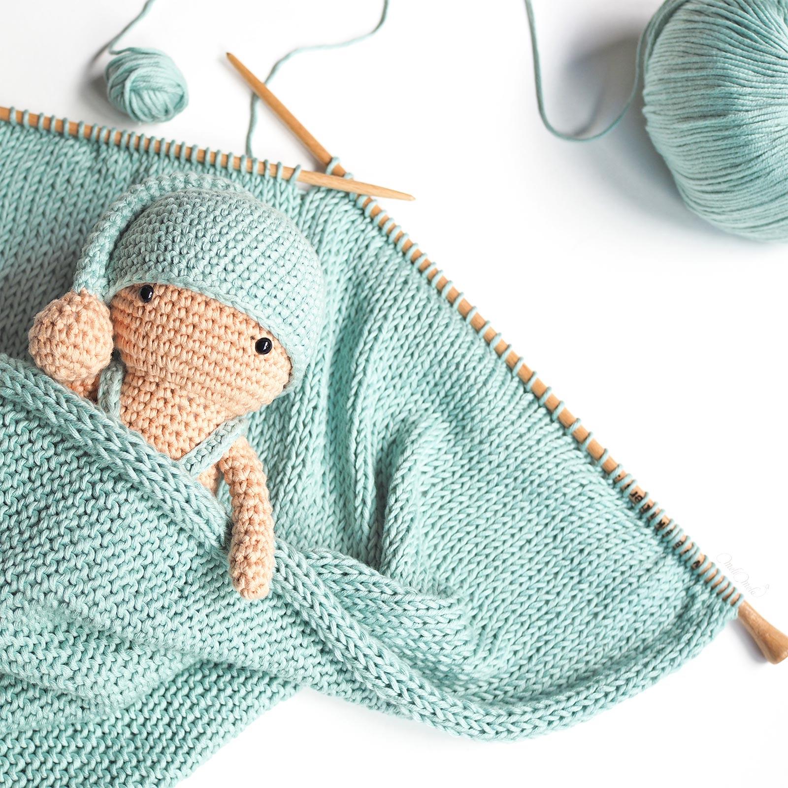 crochet petit dormeur tricot douceur coton pima We Are Knitters laboutiquedemelimelo