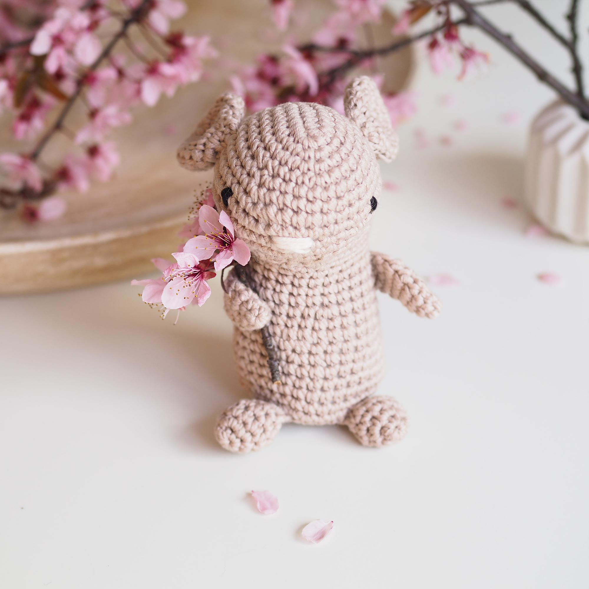 crochet rat mouse face tuto Pasapasdechat Boutique MeliMelo