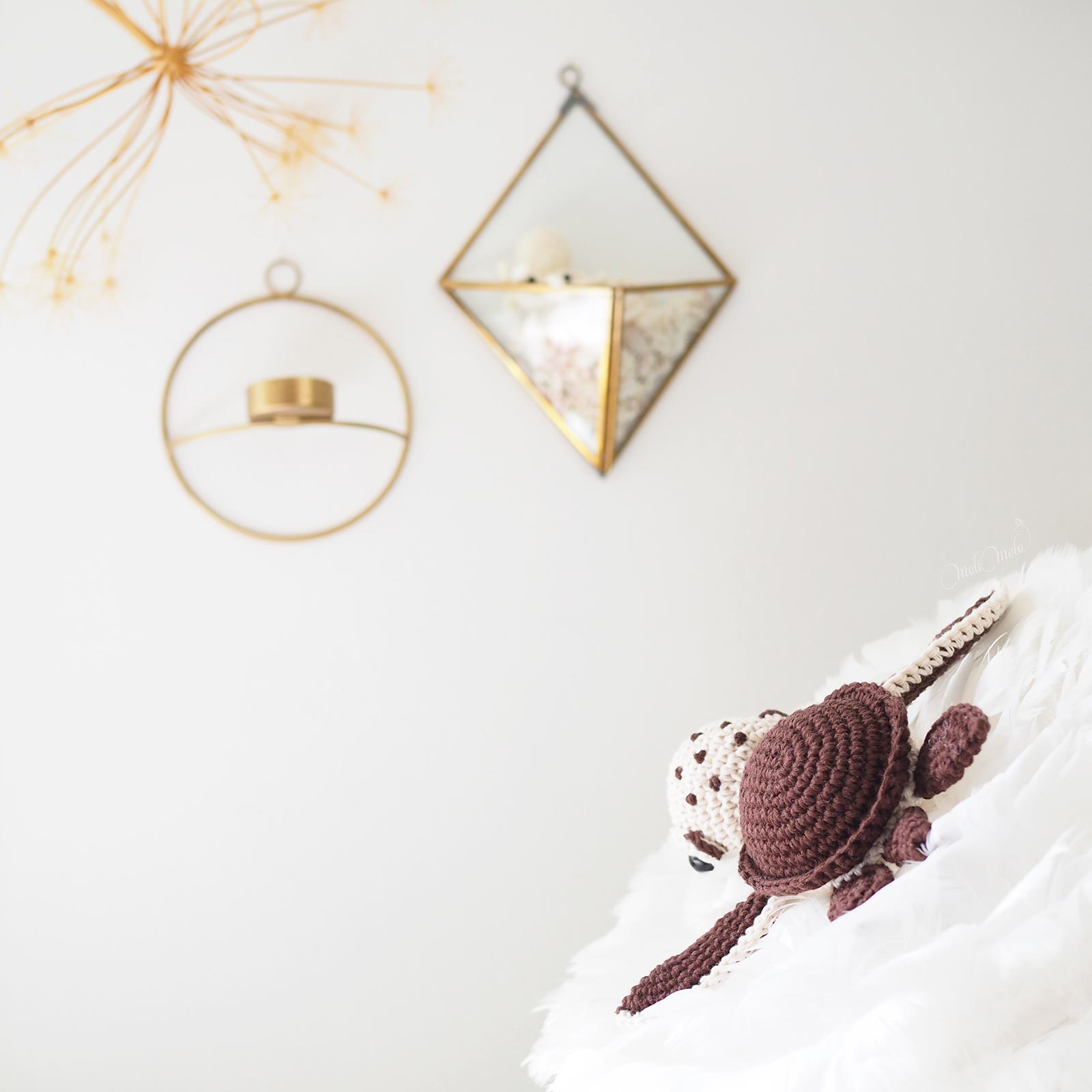 crochet-tortue-amigurumiwildlife-ricorumi-chocolate-cotton-laboutiquedemelimelo