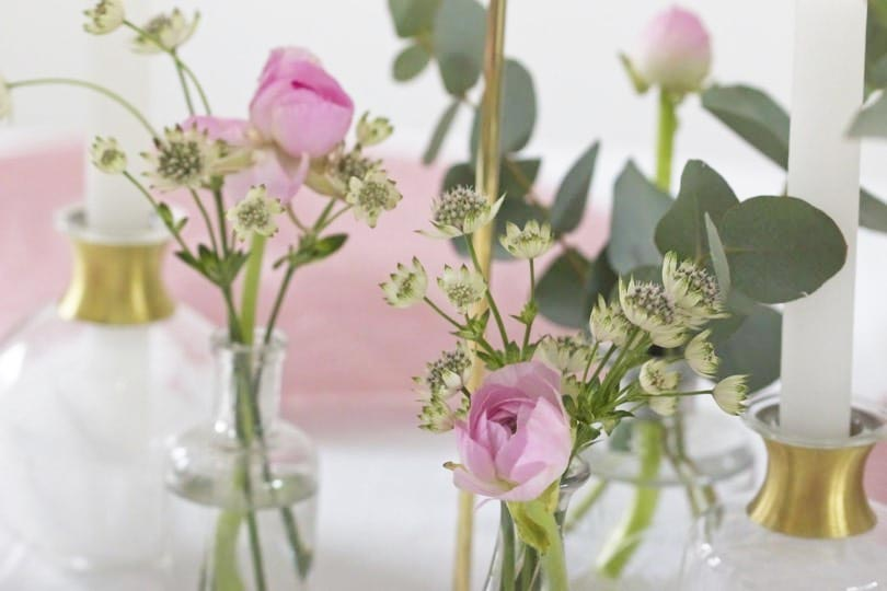 déco vases renoncules nathalie un brin naturel