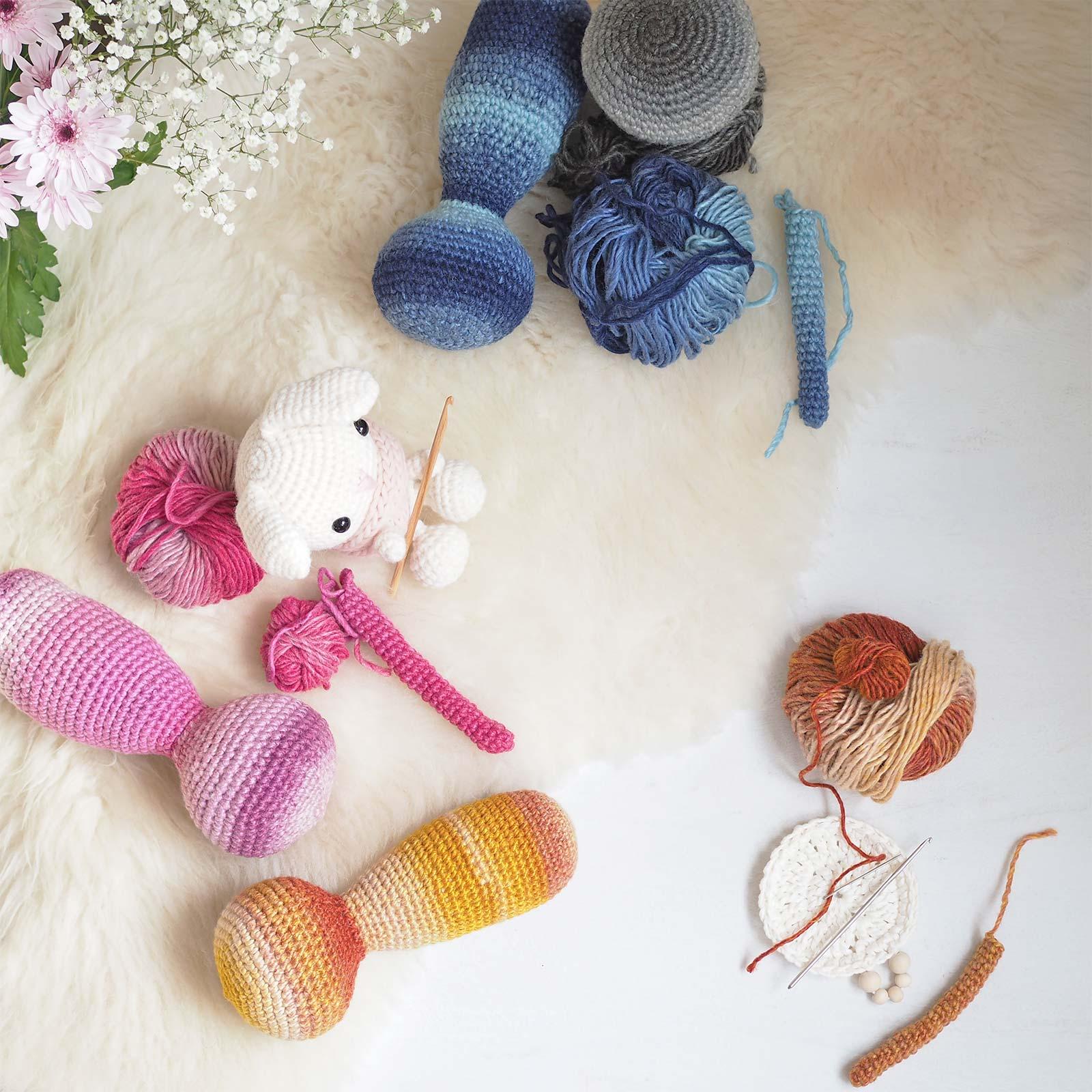 devinette encours crochet amigurumi lapin spring bunny laboutiquedemelimelo