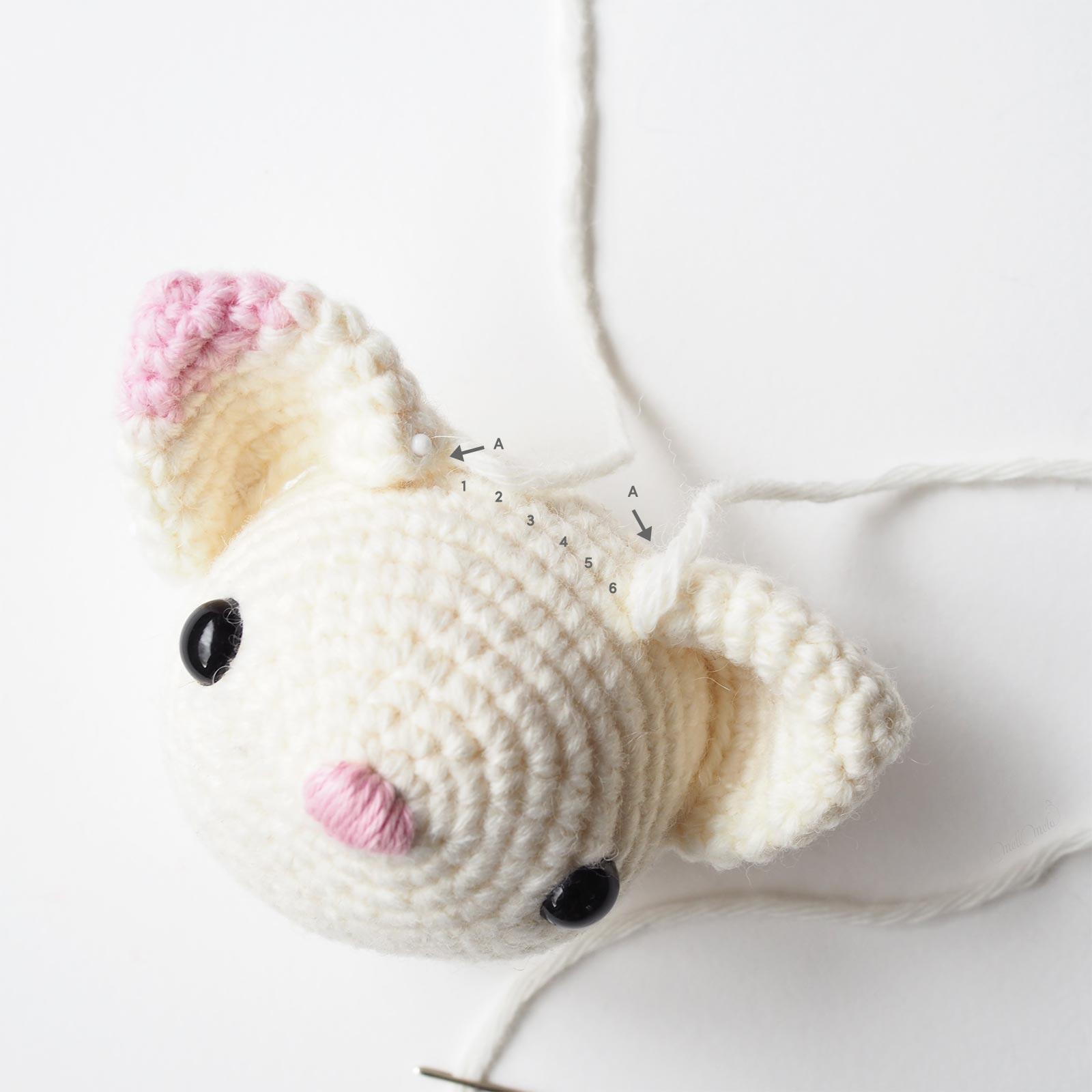 diy crochet chat position oreilles diymelimelo laboutiquedemelimelo