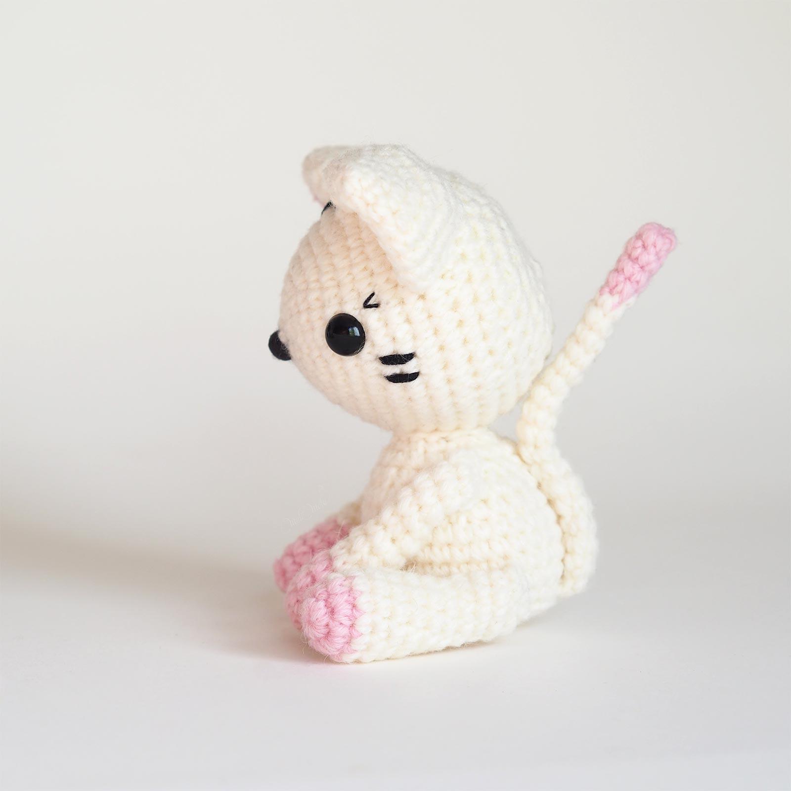 diy patron crochet chat chatte côté diymelimelo laboutiquedemelimelo