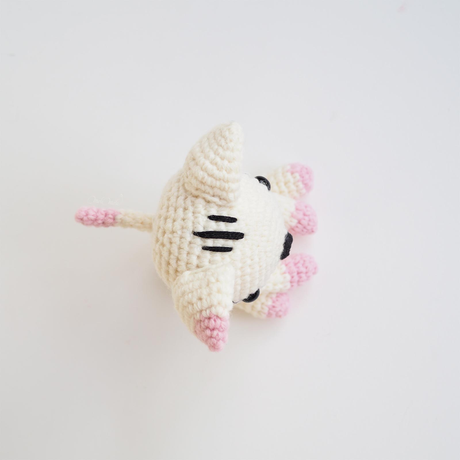 diy patron crochet chat chatte haut diymelimelo laboutiquedemelimelo