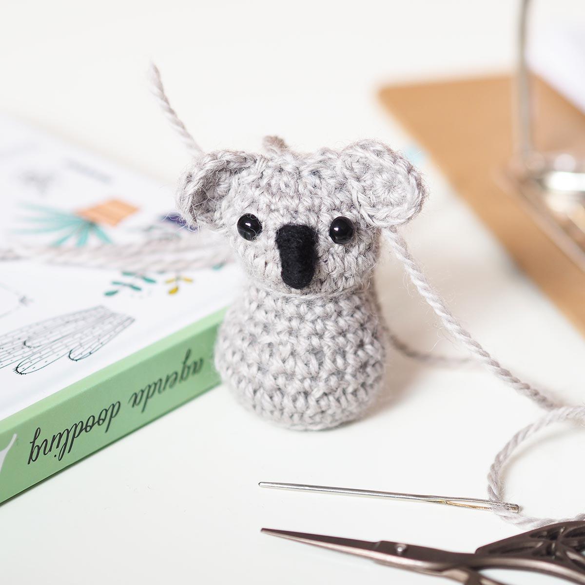 diy koala crochet museau snout boutique melimelo