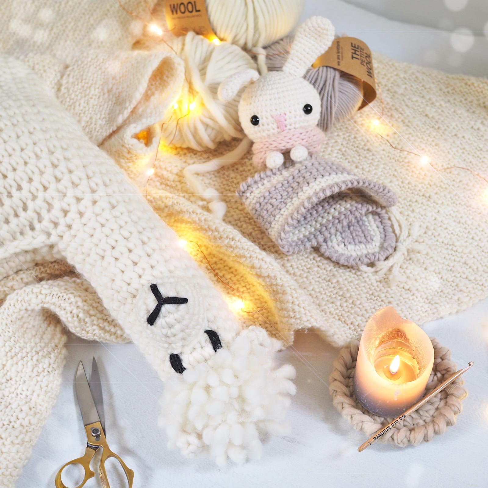alpacawak doudou crochet alpaga lapin amigurumis kawaii laboutiquedemelimelo