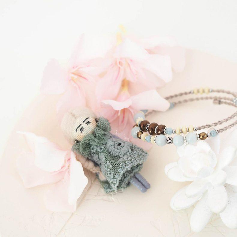 duo-broche-poupee-dentelle-bracelet-macrame-cristal-boheme-pierre-amazonite-laboutiquedemelimelo