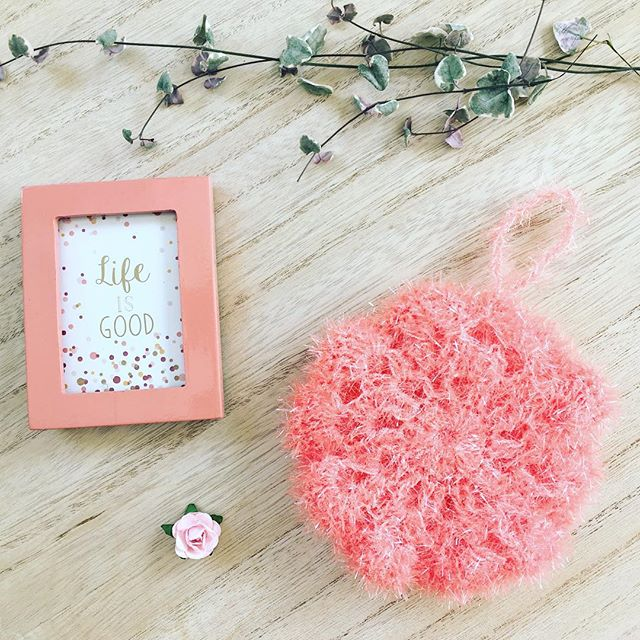 éponge tawashi rose ricodesign creative bubble DIY #diymelimelo