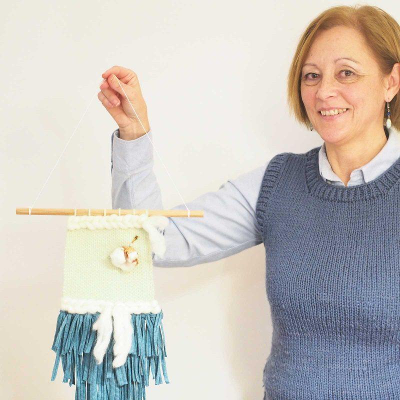 workshop atelier créatif tissage janvier Valladolid Mimarinita laboutiquedemelimelo