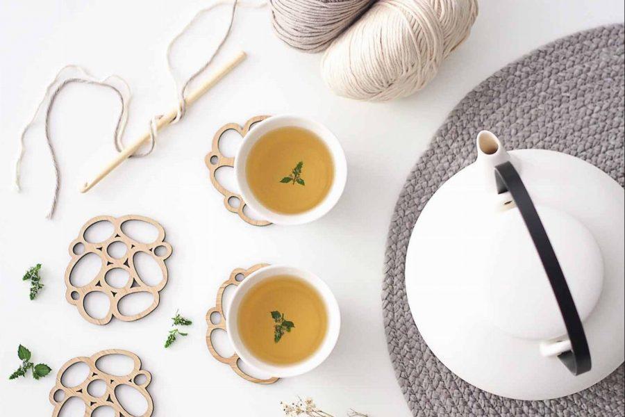 mélimélo thé ensemble partage teatime crochet coton laboutiquedemelimelo
