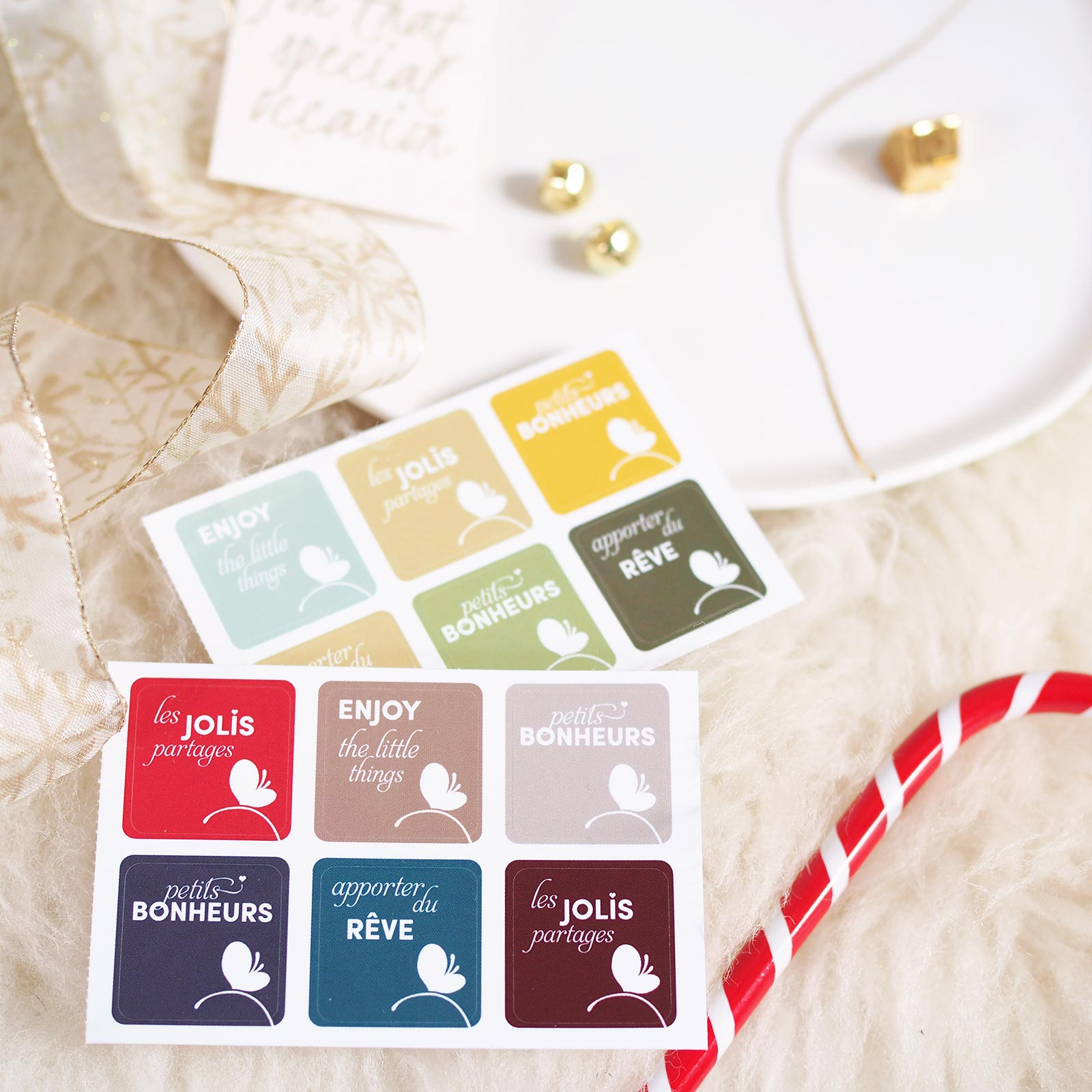 etiquette sticker moocards cadeau branding packaging laboutiquedemelimelo