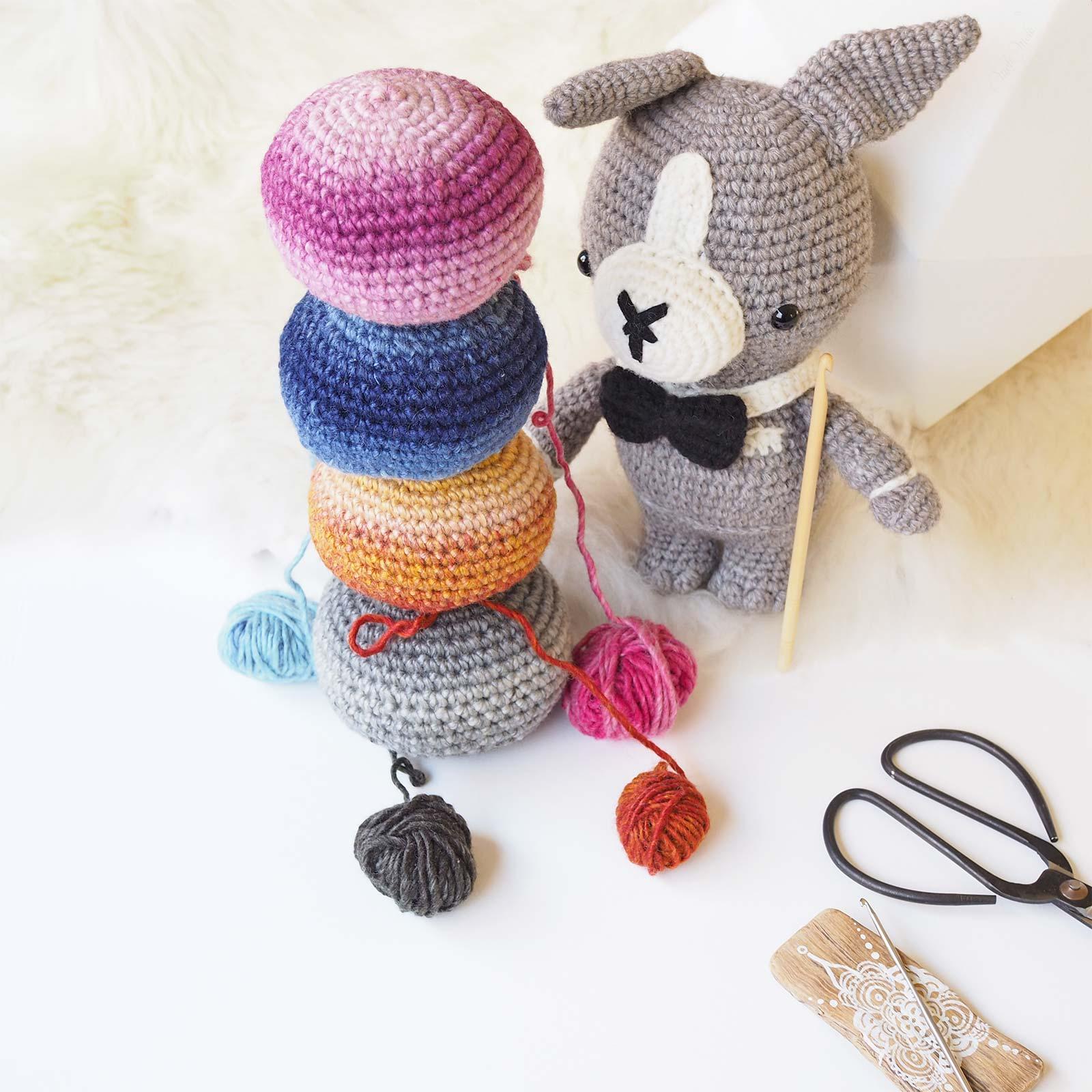giveaway devinette crochet amigurumis chien dog Bentley laboutiquedemelimelo