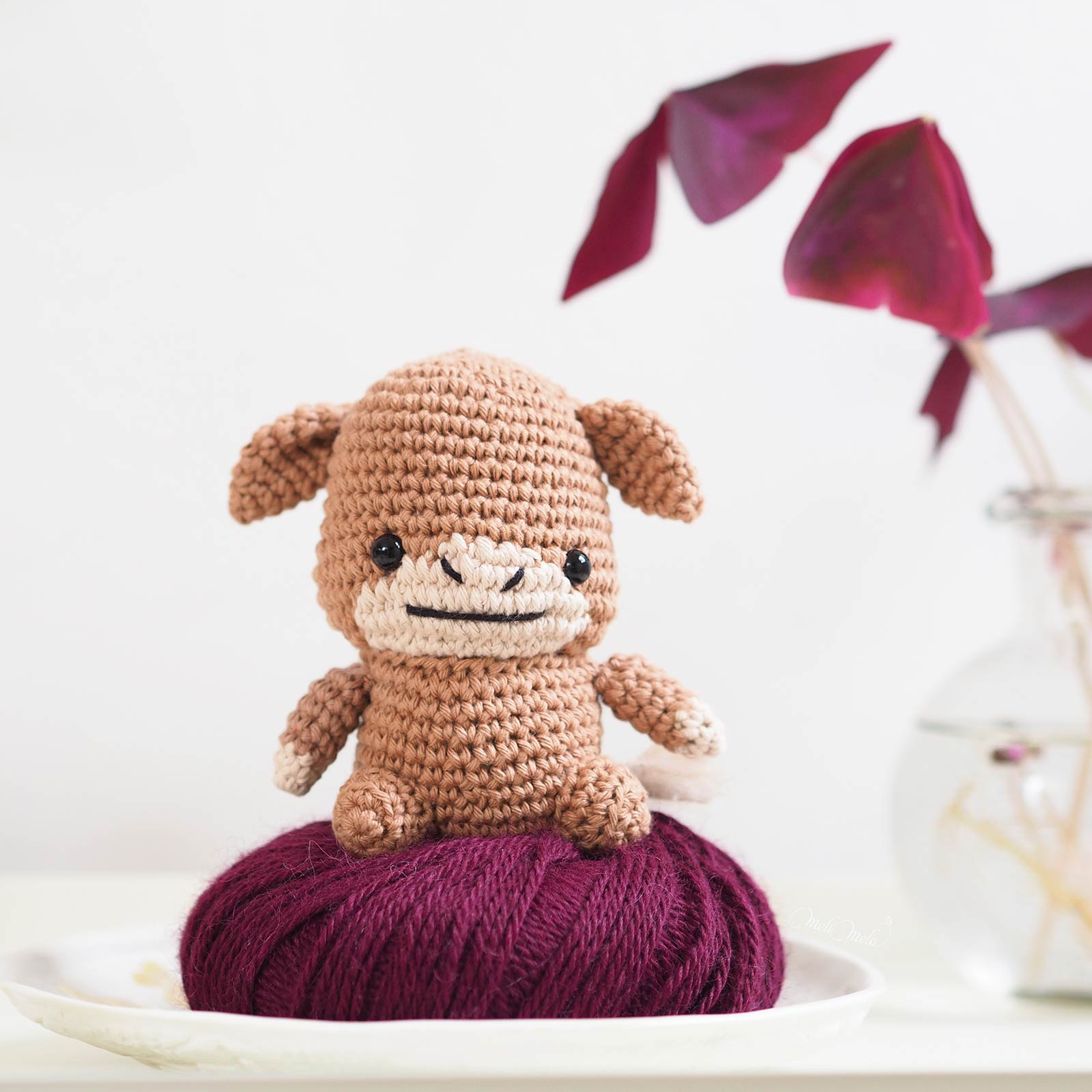 gobba-golden-ox-crochet-buffle-ricorumi-amigurumi-laboutiquedemelimelo