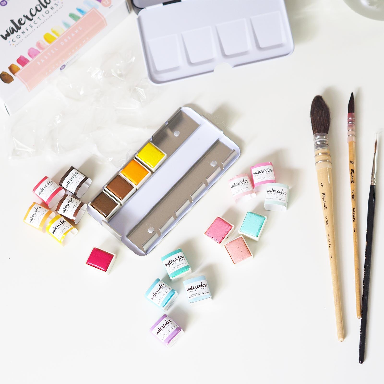 godet aquarelle pastel dreams confections prima boutique MeliMelo