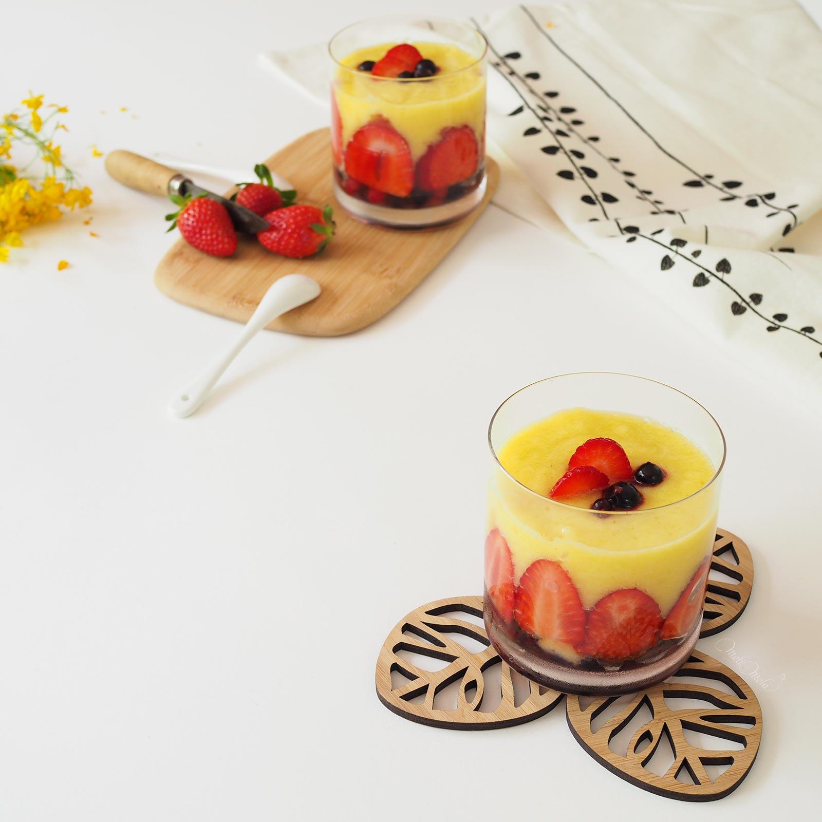 goûter mélimélothé smoothie fraises ananas oranges fruits rouges  Boutique MeliMelo