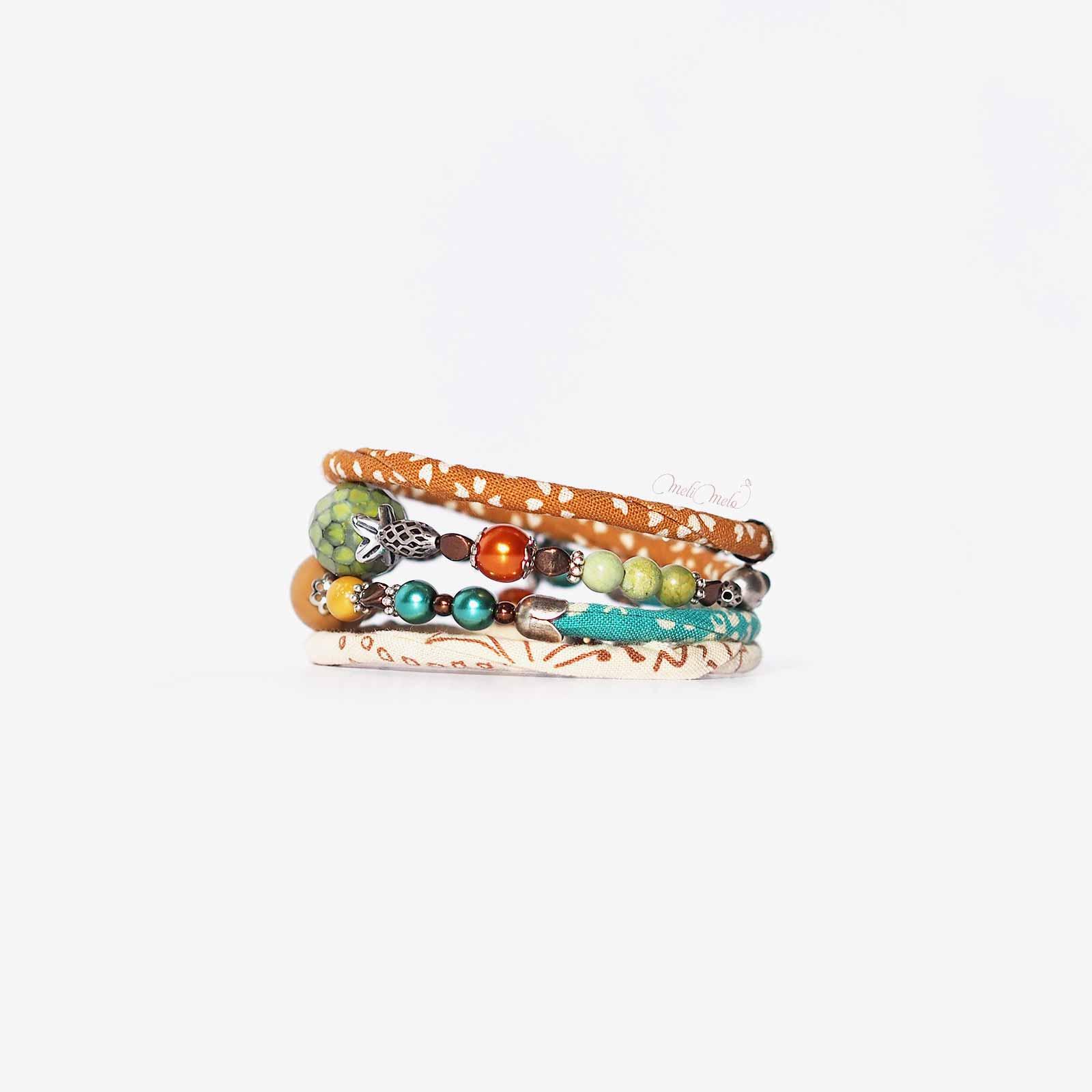 bracelet Kajou Haato swarowski nacrées laboutiquedemelimelo