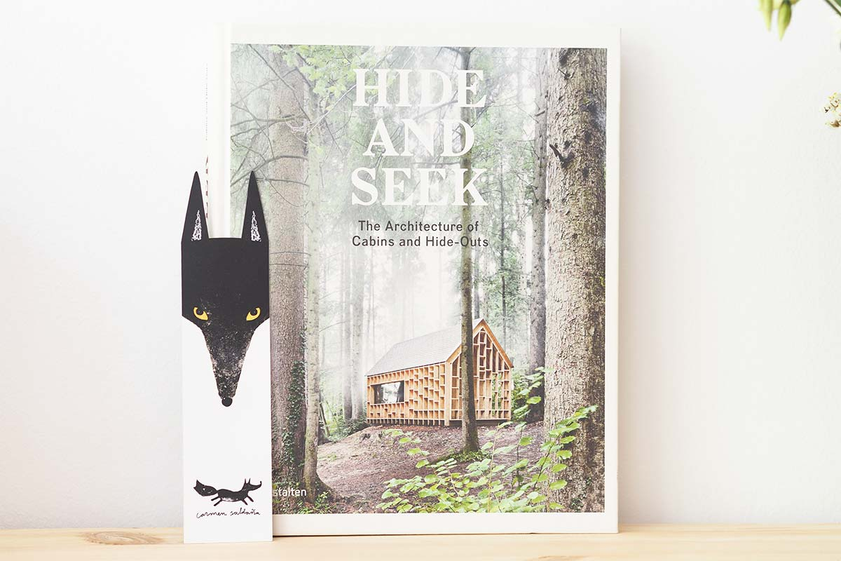marque page loup