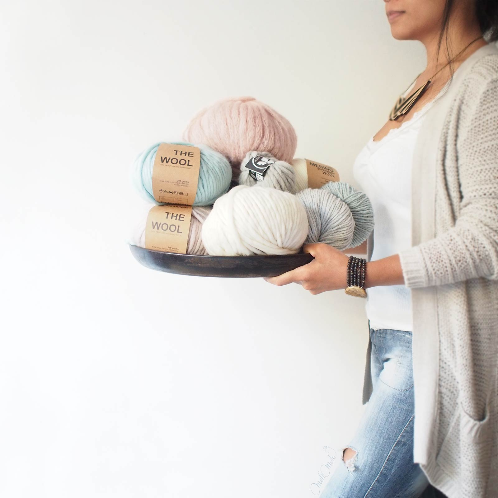 yarn addict wool cotton iamknitterweek favourite yarn La Boutique de MeliMelo