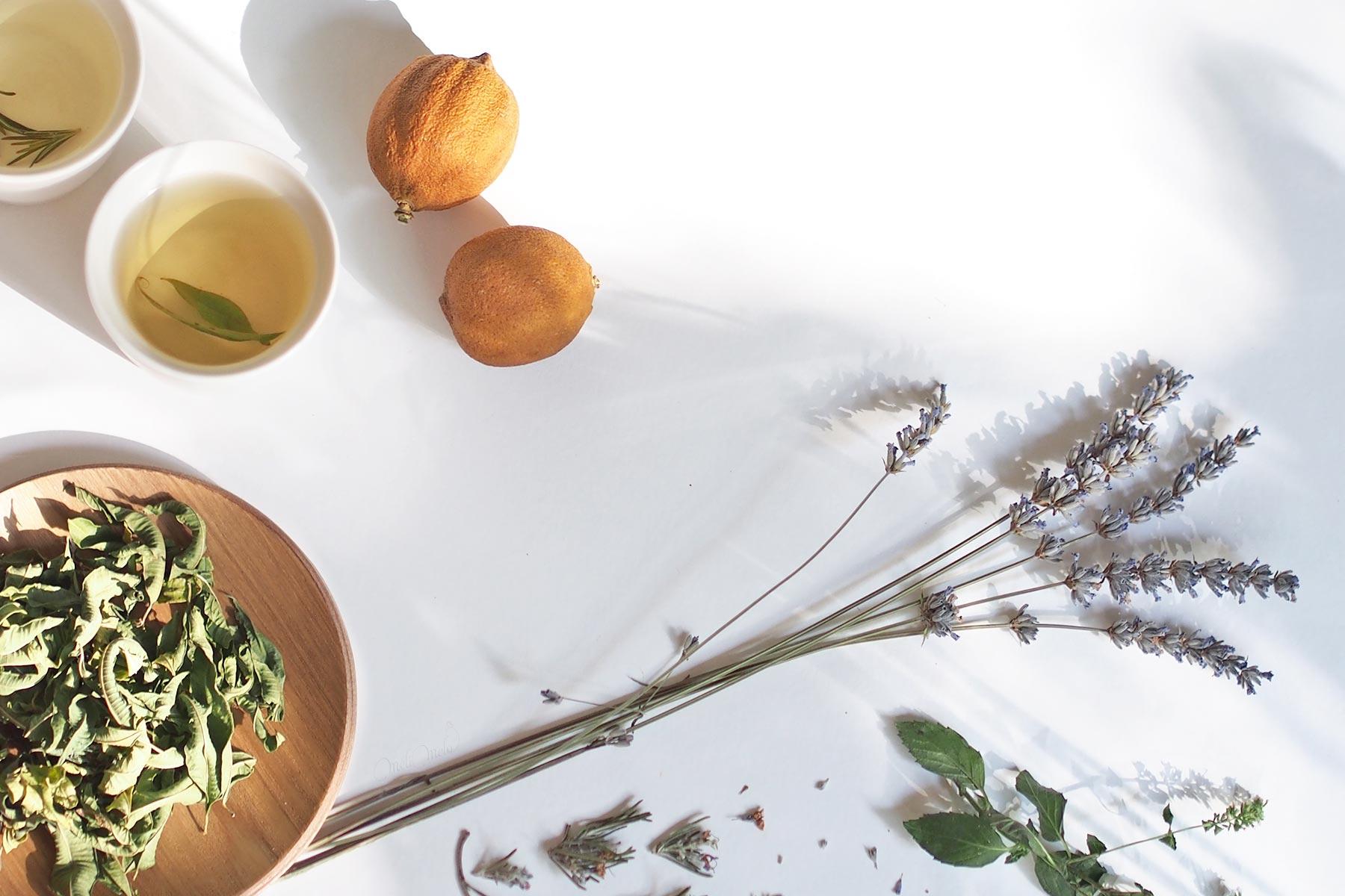 infusion verveine lavande romarin citron mélimélothé laboutiquedemelimelo