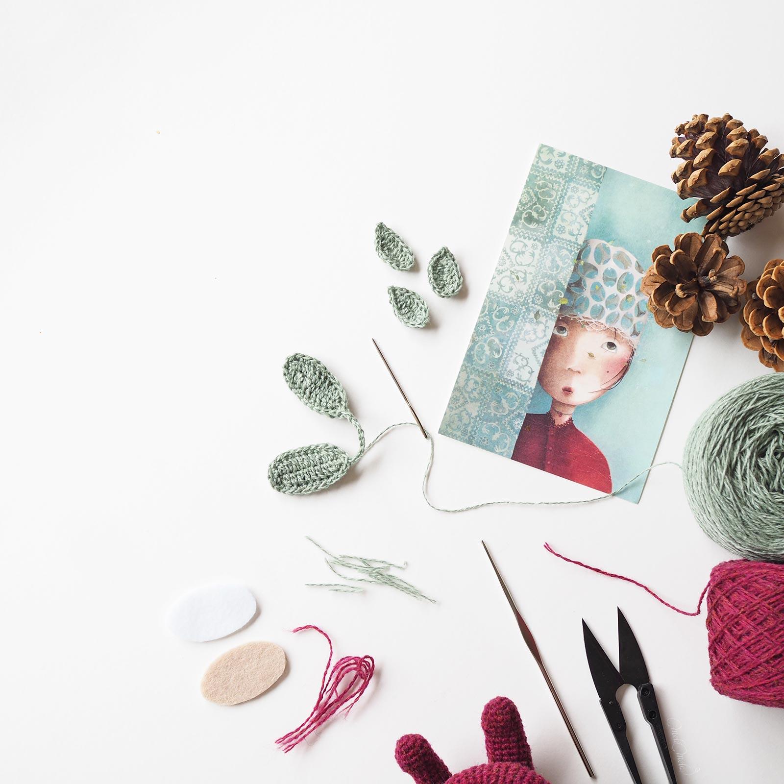elfe pins inspiration poème Cicely Mary Barker illustration Rébecca Dautremer créations mignonneries crochet laboutiquedemelimelo