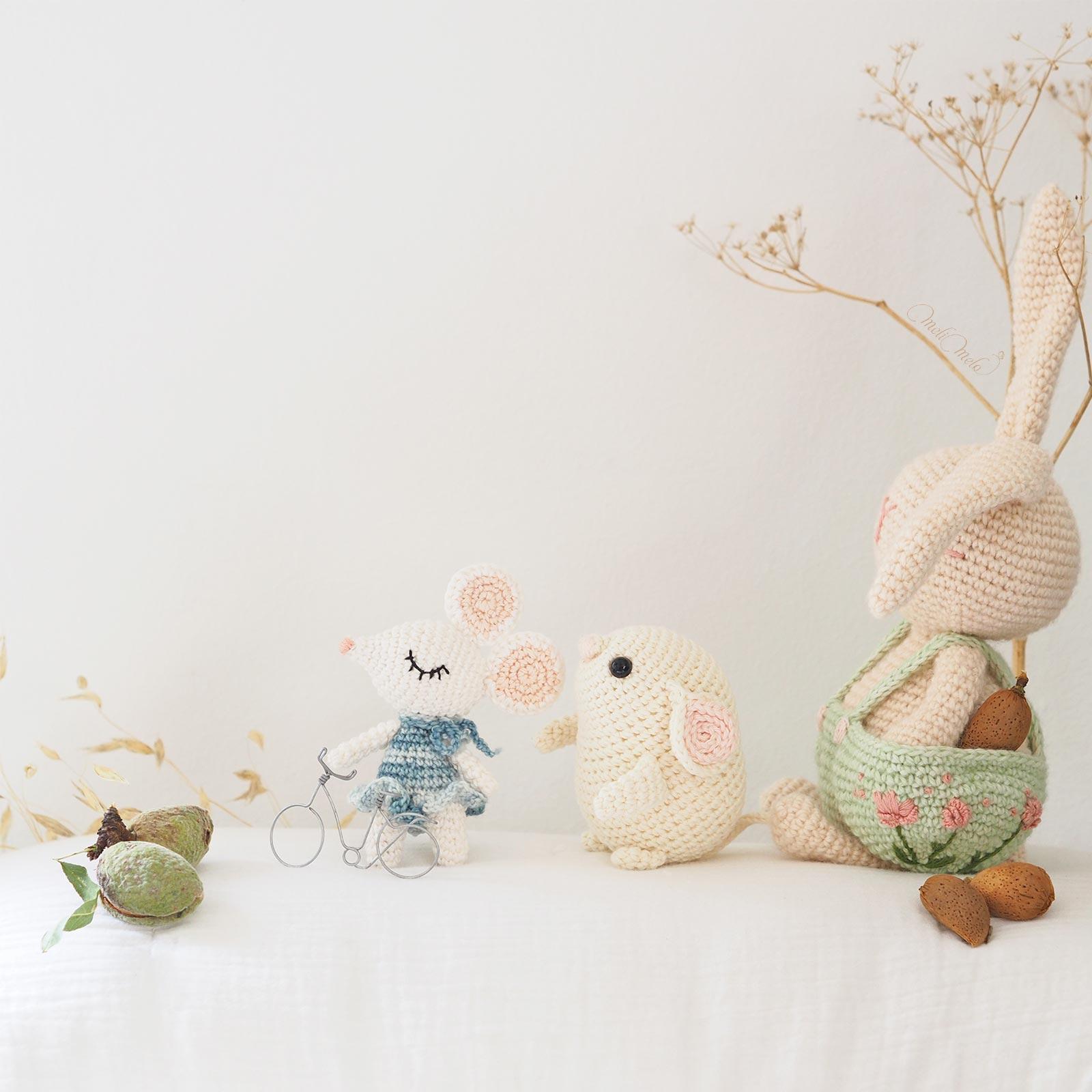 jouet-coton-artisanal-crochet-souris-lapin-amigurumi-laboutiquedemelimelo