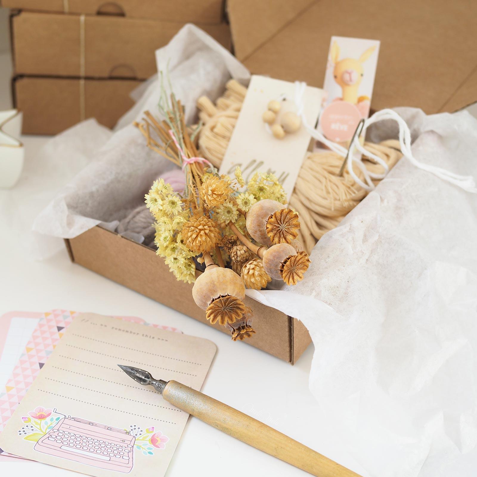 kit-DIY-laine-bouquet-pavots-la boutique de melimelo