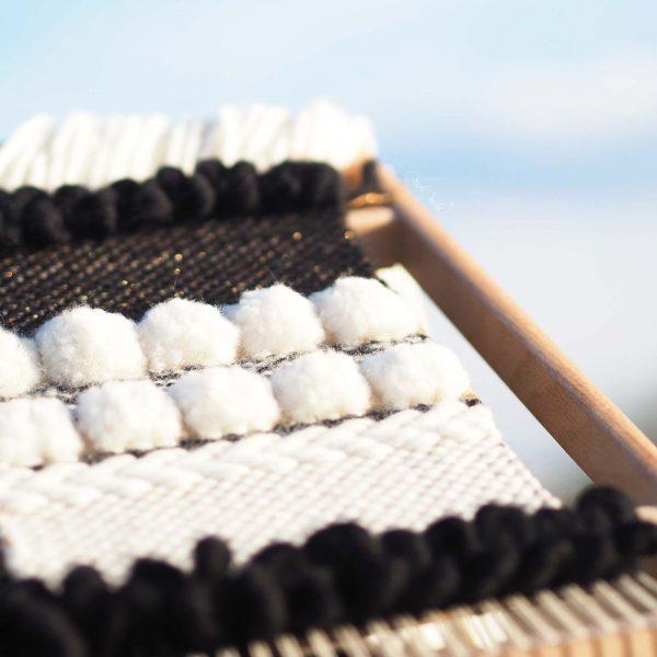 kit de laine reflets d'or modèle DIY détails laboutiquedemelimelo