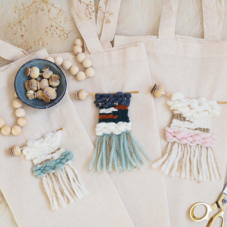 kit-diy-mini-tissages-pavot-tote-bag-coton-laine-laboutiquedemelimelo