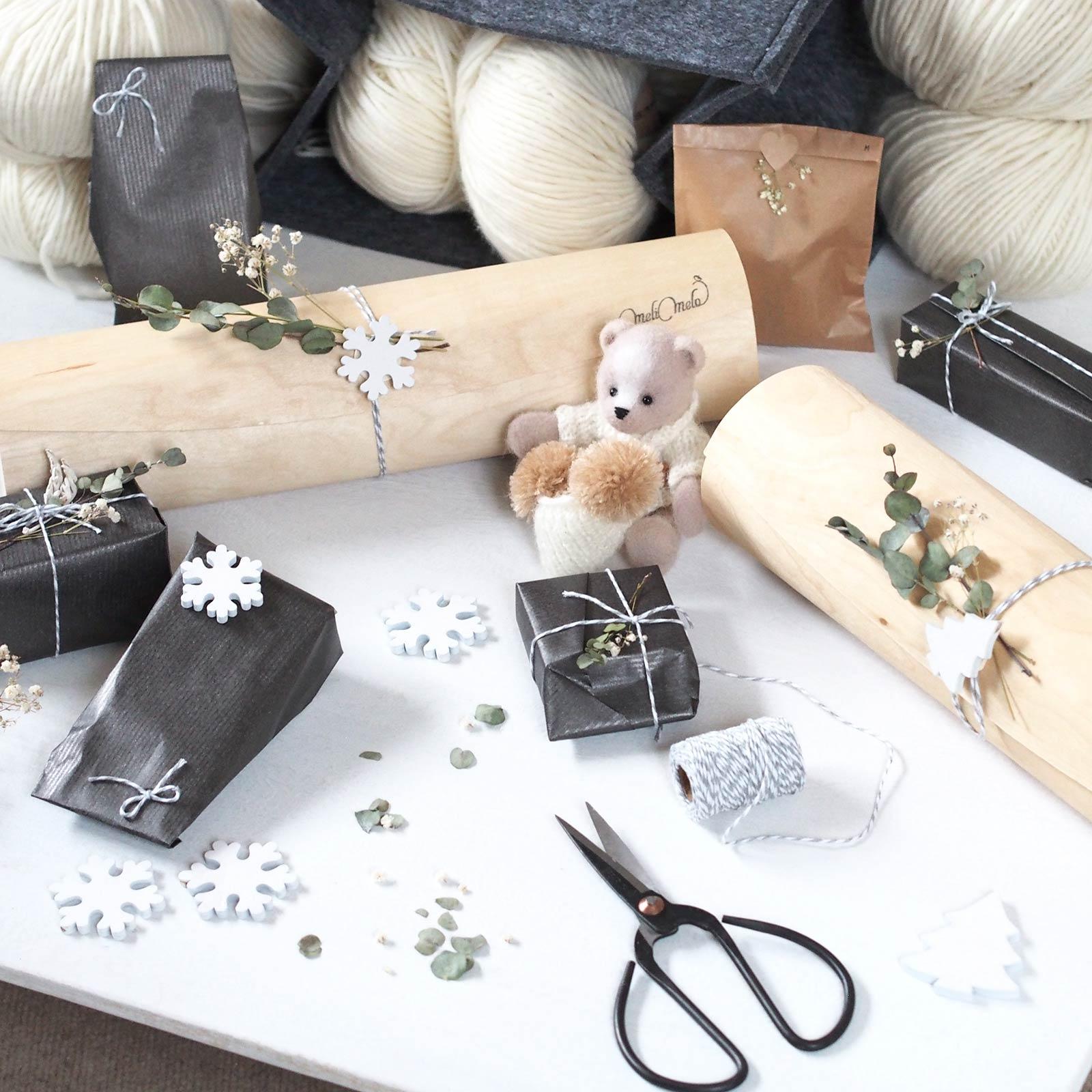 la magie de Noël gifts Merry Christmas bear laboutiquedemelimelo