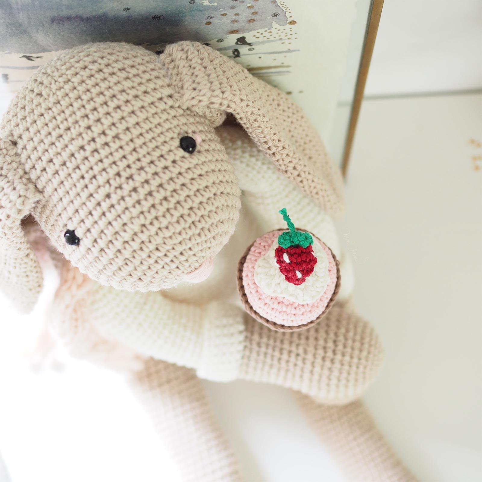 lapin doudou amigurumi crochet glace coton Ricorumi Boutique MeliMelo