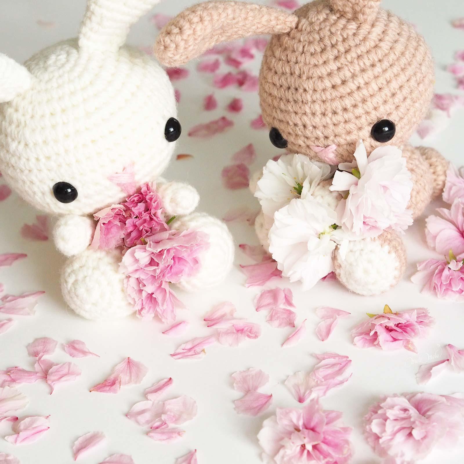 lapins crochet laine prunus sakura ricodesign alpaca bunny laboutiquedemelimelo