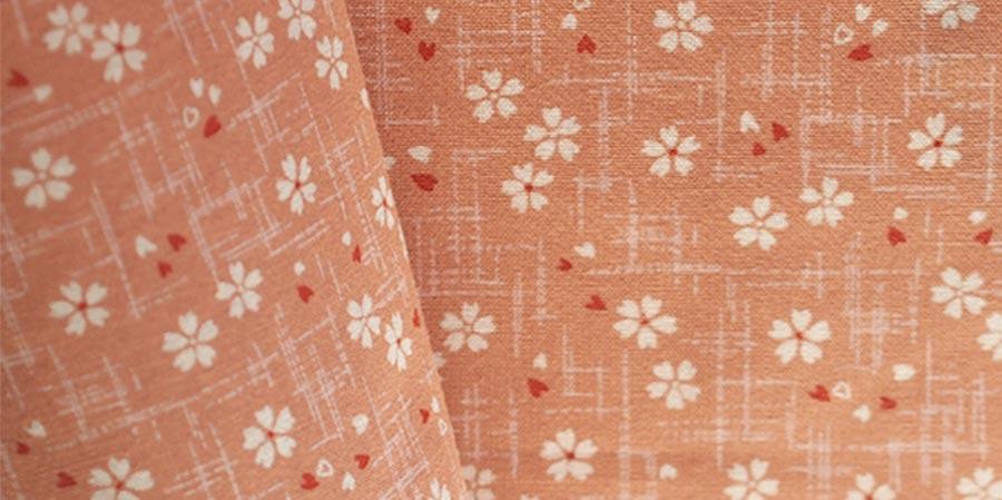 tissu japonais cerisiers Sakura rose laboutiquedemelimelo