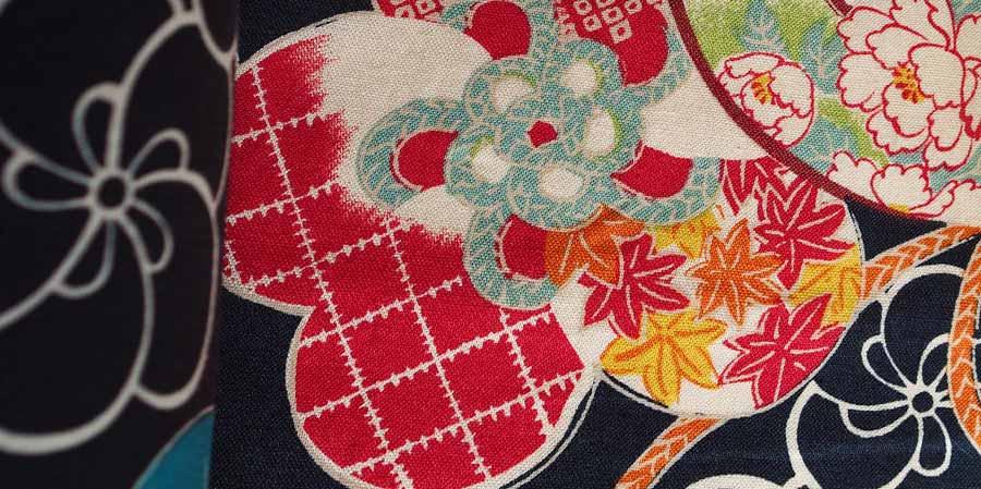 tissu japonais érables Temari laboutiquedemelimelo
