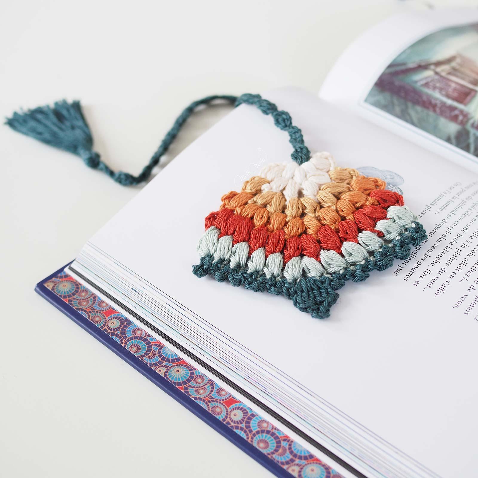 marque-page-crochet-tassel-couleur-automne-laboutiquedemelimelo