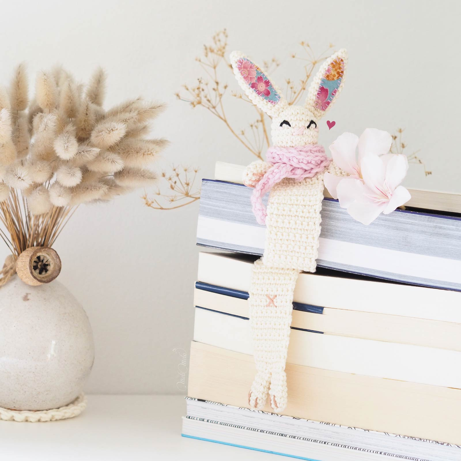 marque-page-lapin-kawaii-crochet-tissu-japonais-laboutiquedemelimelo