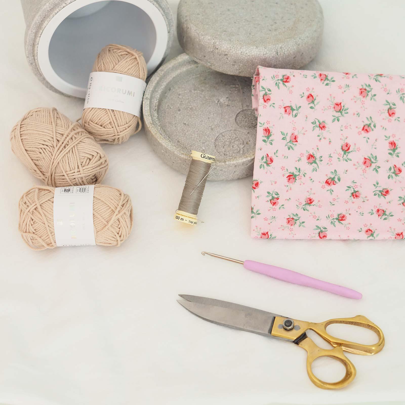 matériel écrin macaron crochet chouettekit laboutiquedemelimelo