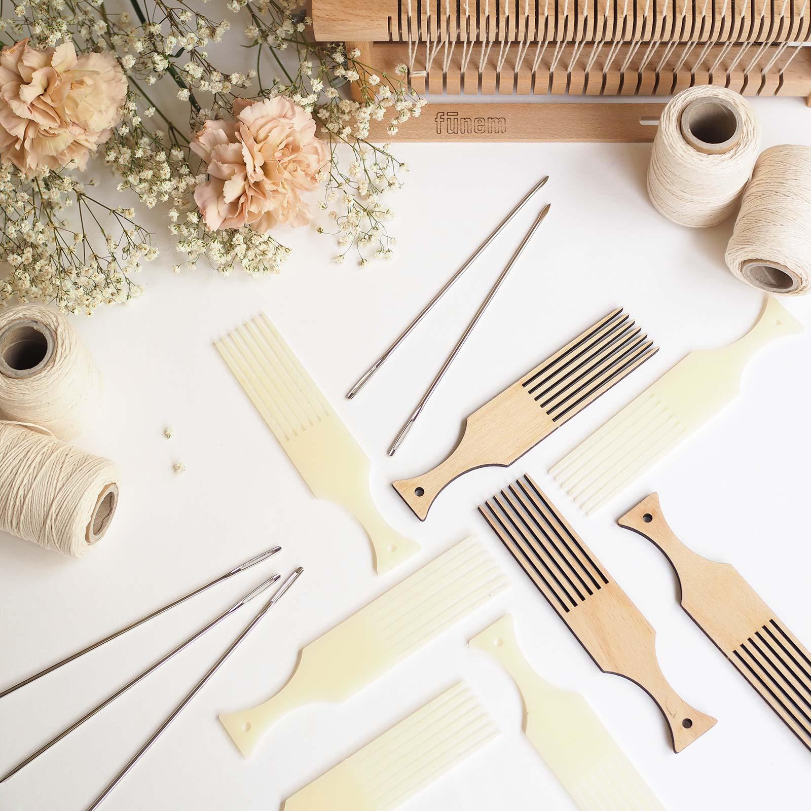 accessoires métier à tisser défi tissage peignes laboutiquedemelimelo