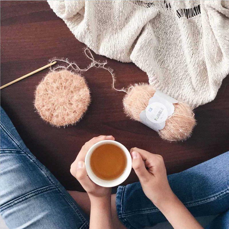 milkywool éponge tawashi creative bubble ricodesign DIY laboutiquedemelimelo