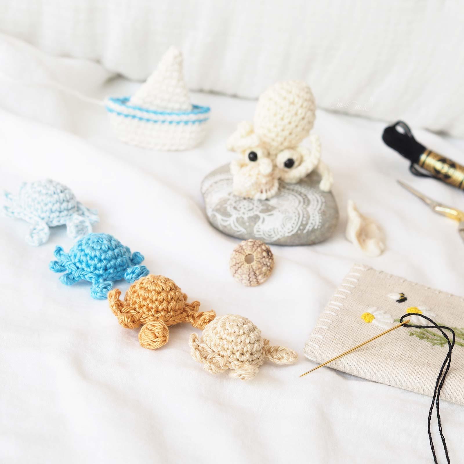 mini-poulpe-coquillage-crochet-encours-laboutiquedemelimelo