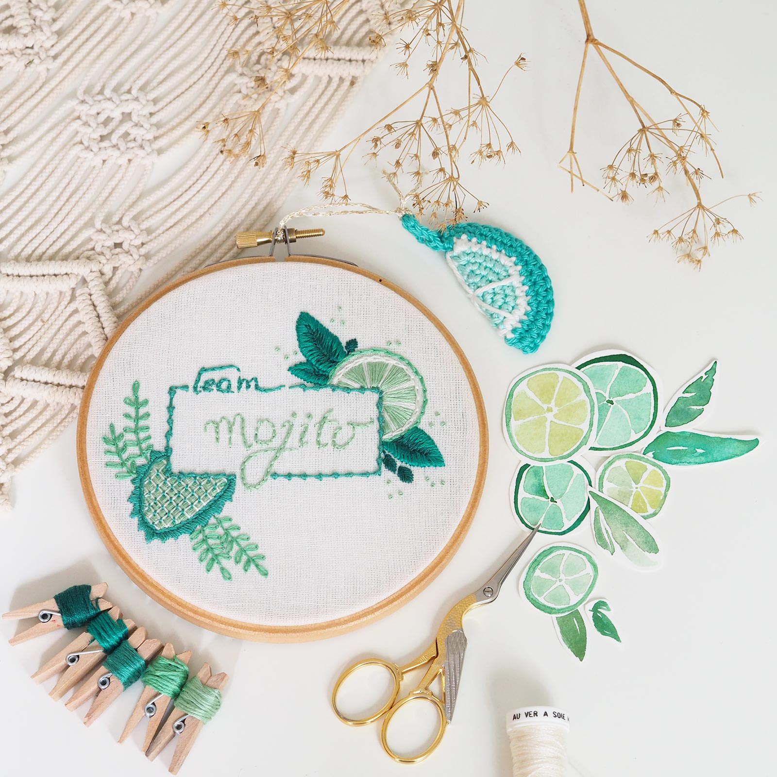 mojito-broderie-embroidery-crochet-watercolor-lime-vert-laboutiquedemelimelo