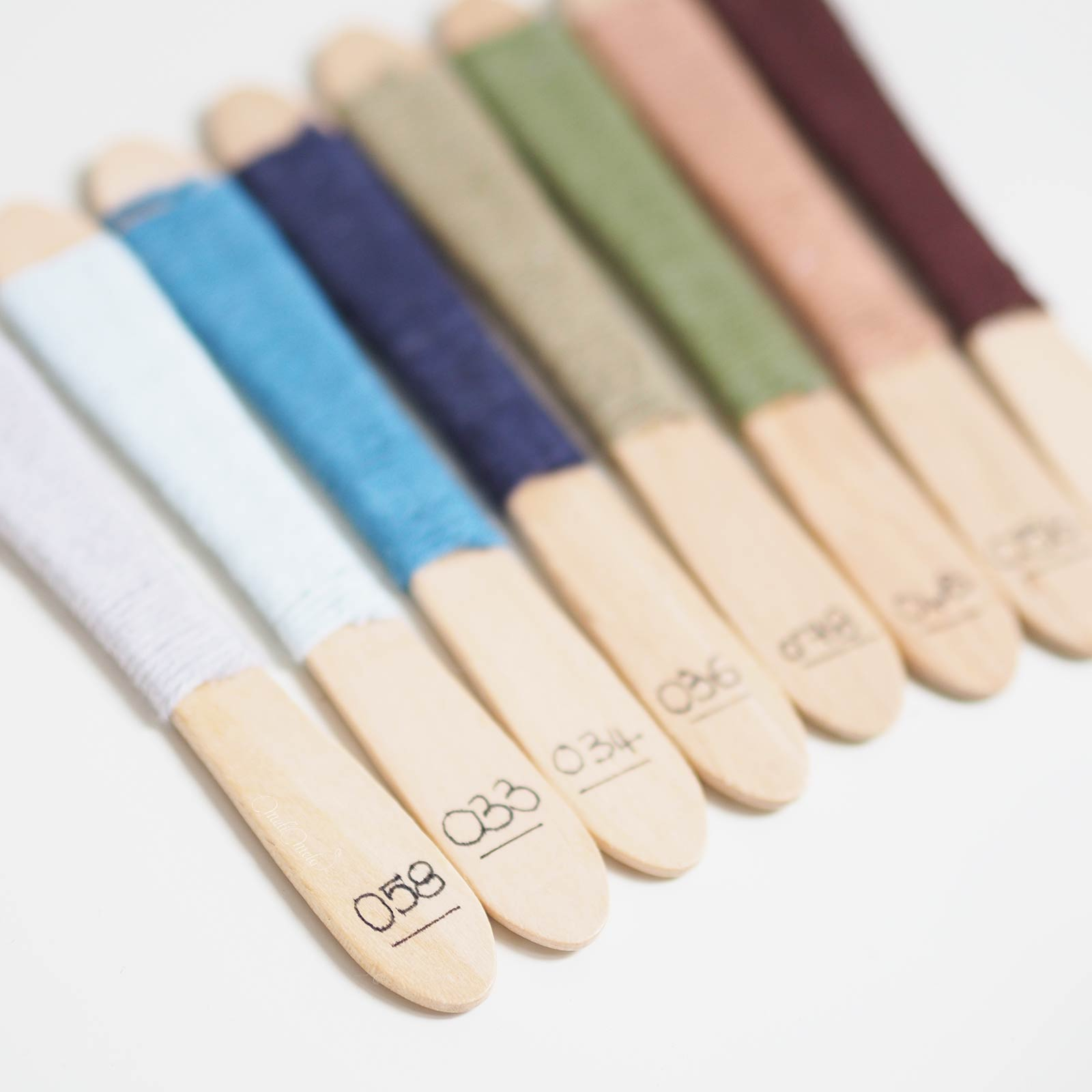 nuancier-coton-ricorumi-batonnet-glace-home-made-numeros-laboutiquedemelimelo