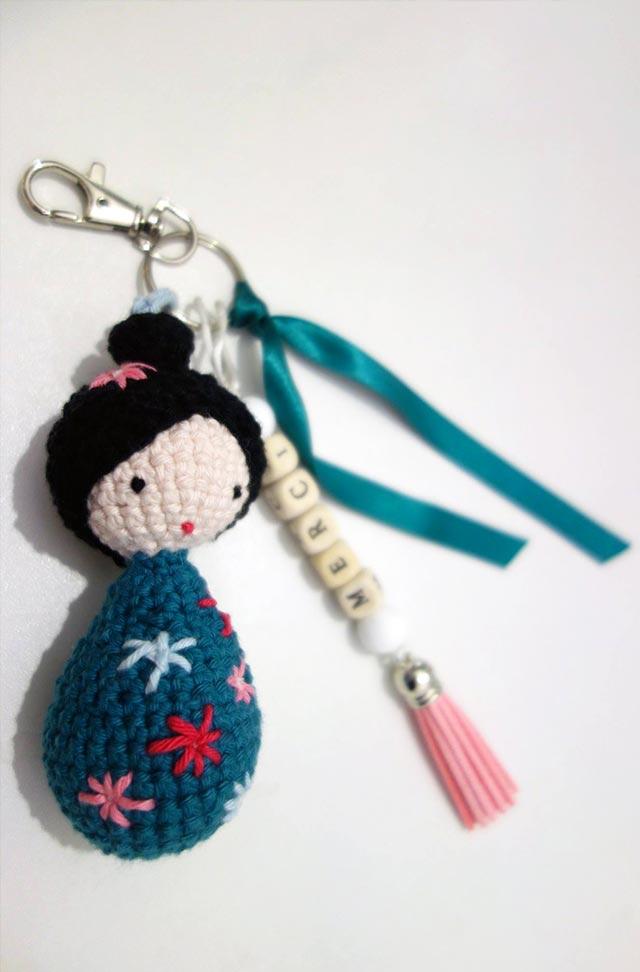 poupée PoiS PlumeS bleu tutoriel DIY #diymelimelo