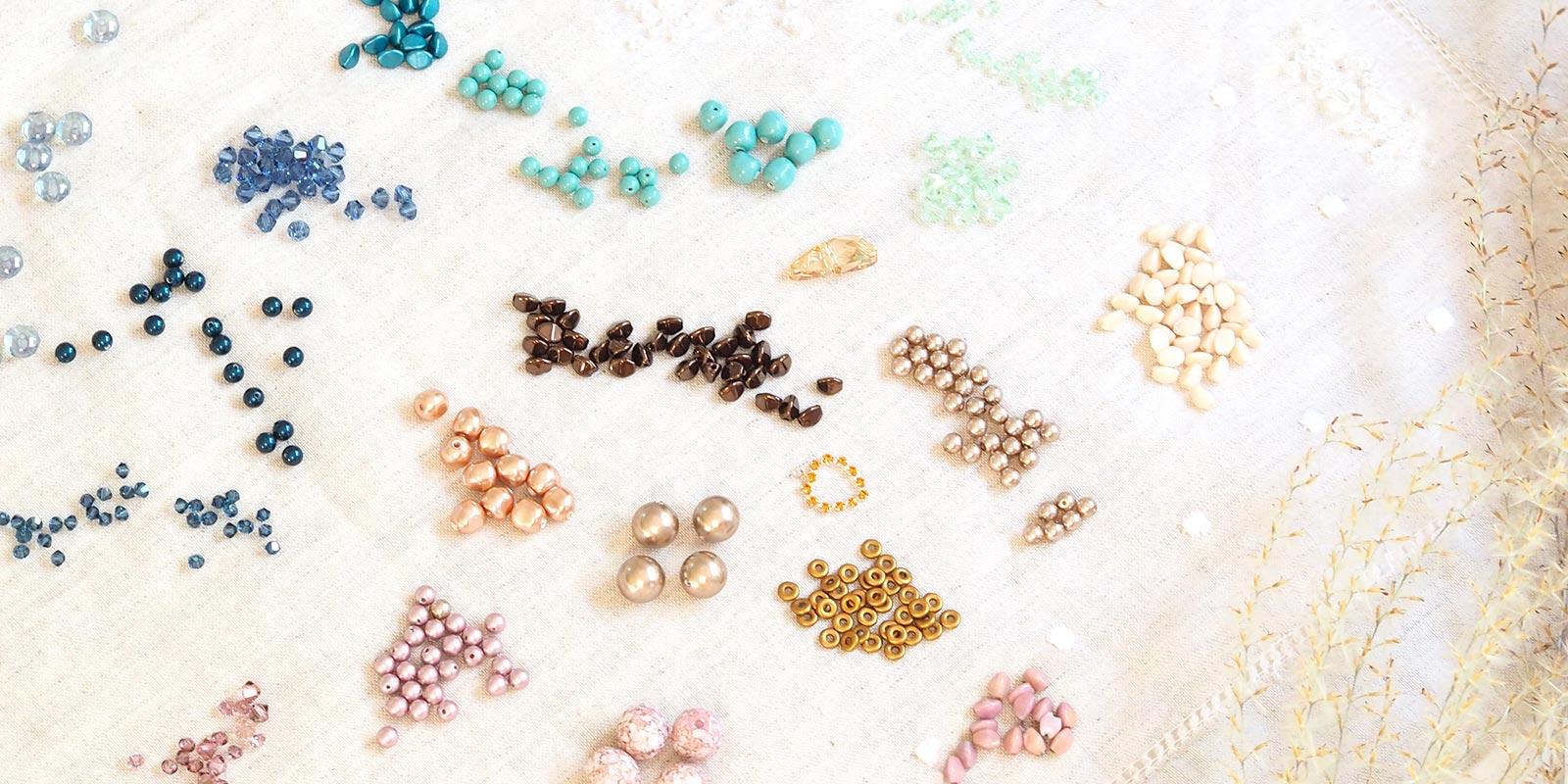 perles cristal de Swarovski inspiration laboutiquedemelimelo