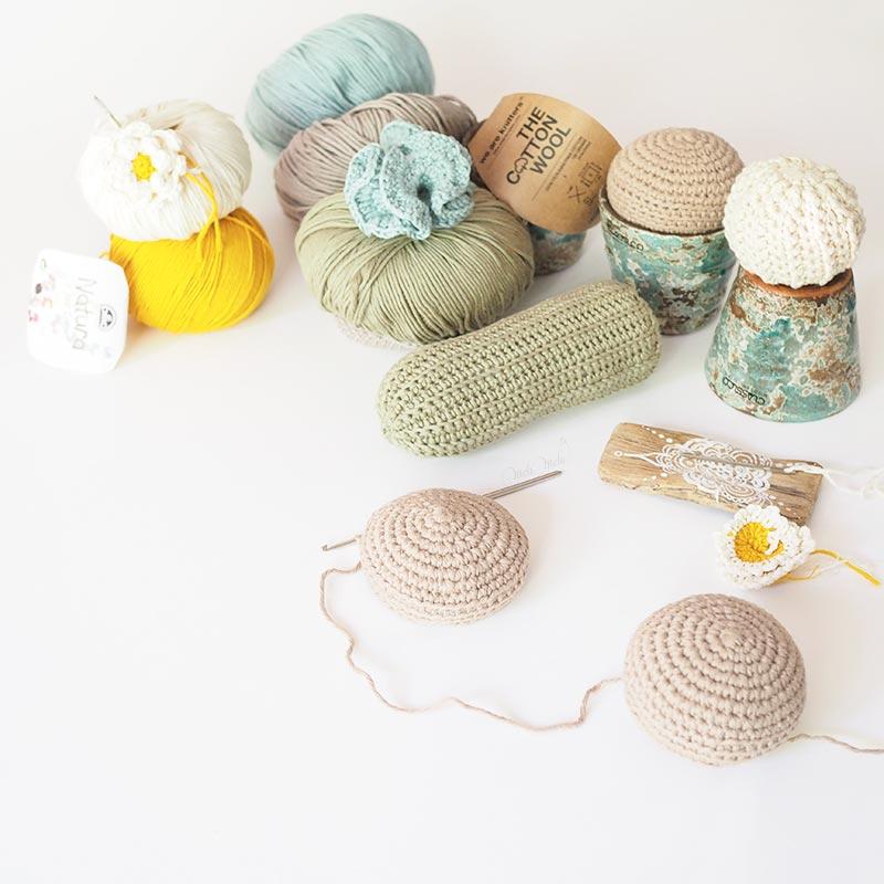 personnalisation cactus décoration succulente crochet coton the cotton wool dmc natura céramique homeware laboutiquedemelimelo