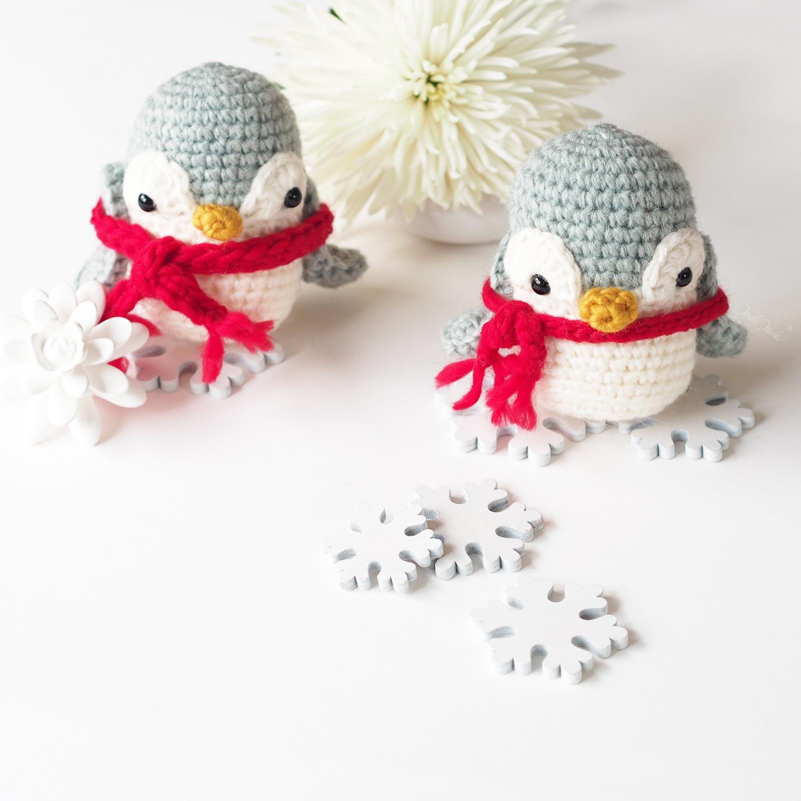 pingouins jumeaux   créations mignonneries crochet ricodesign essentials alpaca blend chunky laboutiquedemelimelo